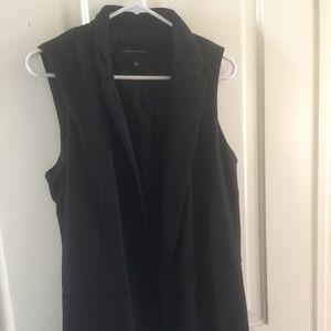 Black Midi Vest